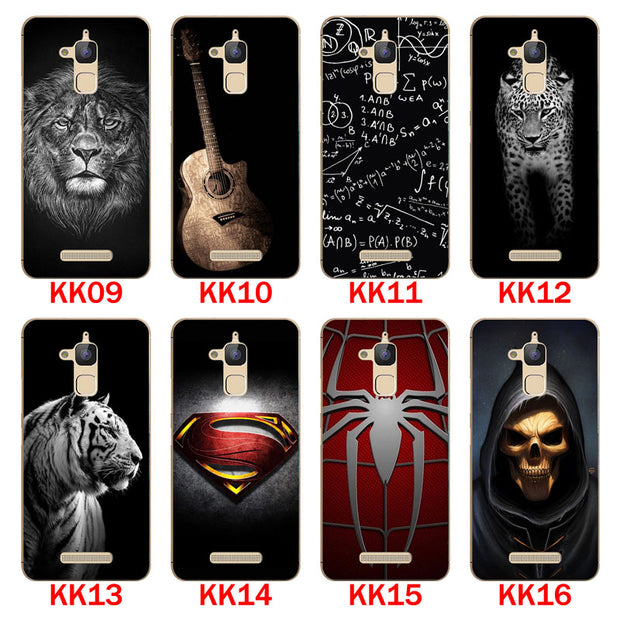 For ASUS Zenfone 3 Max ZC520TL Case,Silicon Bandersnatch Painting Soft TPU Back Cover For ASUS ZC520TL Phone Protect Bags Shell