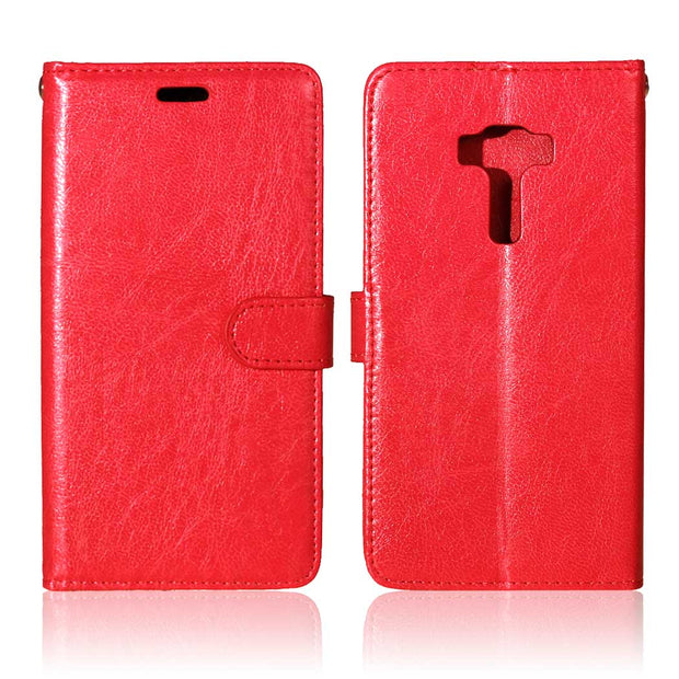 For Asus Z012D Case Zenfone 3 ZE552KL ZE ZE552 552 552KL Flip Case Phone Leather Cover For ASUS Zenfone3 Z012DA ASUS_Z012D Bag