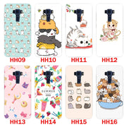 For Asus Zenfone 3 Laser ZC551KL Case,Silicon Look Cat Painting Soft TPU Back Cover For Asus ZC551KL Phone Protect Bags Shell