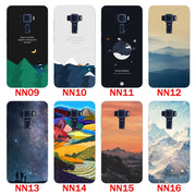 For Asus Zenfone 3 Laser ZC551KL Case,Silicon Scenery Painting Soft TPU Back Cover For Asus ZC551KL Phone Protect Bags Shell