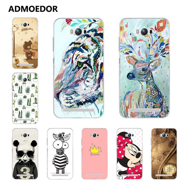 For Asus Zenfone MAX ZC550KL Case,Silicon Panda Painting Soft TPU Back Cover For Asus ZC550KL Phone Protect Bags Shell