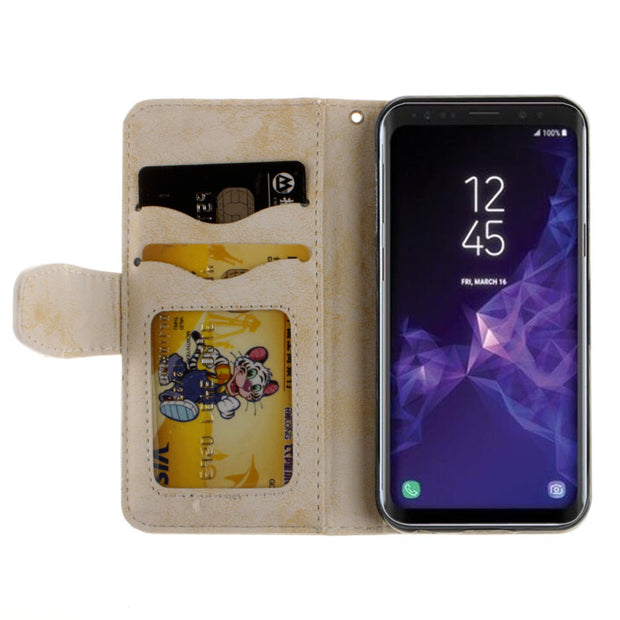 For Galaxy S9 Sm G960f Ds Case PU For Samsung Galaxy S9 S 9 Case SM-G960F/DS Duos TD-LTE Protective Shockproof Wallet Flip Cover