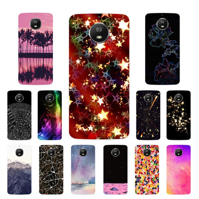 For Moto Motorola G5S XT1793 XT1794 XT1792 Phone Case Silicone Disk Printing Cover For Motorola G5S G 5S Soft Fundas