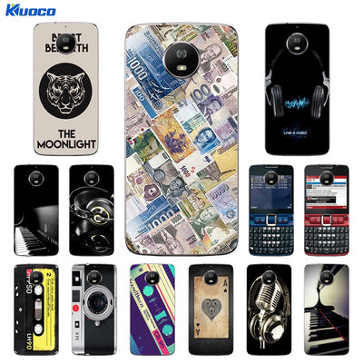 For Moto Motorola G5S XT1793 XT1794 XT1792 Phone Case Silicone Life Printing Cover For Motorola G5S G 5S Soft Fundas