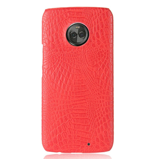 For Motorola Moto X4 X 4 MotoX4 Dual SIM TD-LTE JP XT1900-2 For Moto X4 XT1900-4 Phone PC Hard Shell Leather Cover Case 5.2""