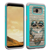 For Samsung Galaxy S8 S 8 Case G950 G950FD Phone Cover For Samsung Galaxy 8S G950F SM-G950F Case 2 In 1 PC + TPU Leather Cases