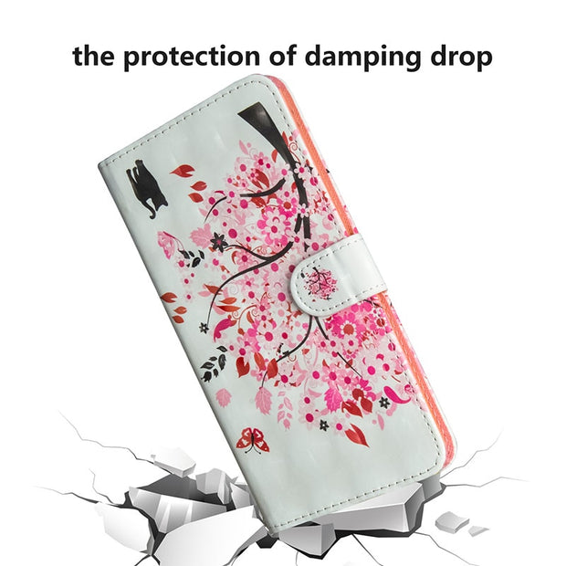 For Smartphone Huawei Nova 3i 75.2x157.6x7.6 Mm Cover INE-lX2 For Huawei Nova 3 I Case TD-LTE APAC INE-LX2 Flip Phone Leather