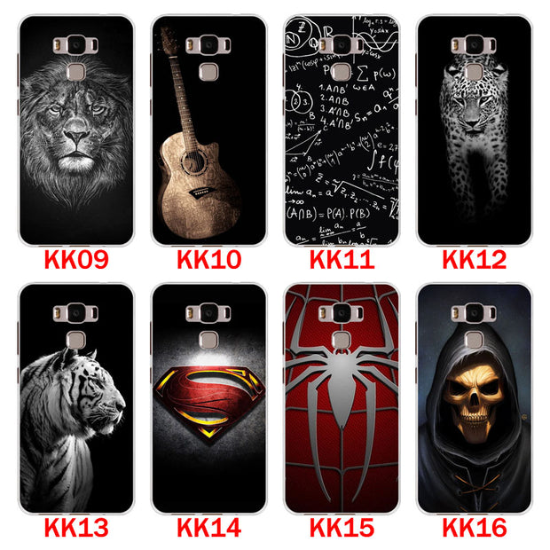 For Asus Zenfone 3 Max ZC553KL Case,Silicon Bandersnatch Painting Soft TPU Back Cover For Asus ZC553KL Phone Protect Bags Shell