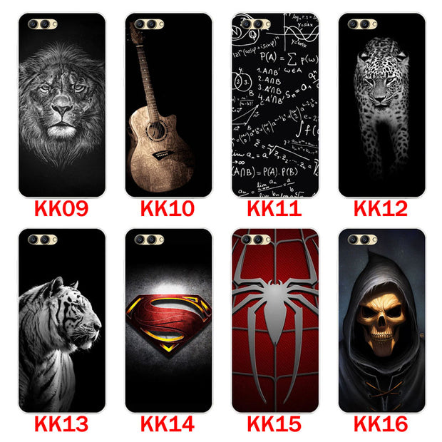 Huawei Honor V10 Case,Silicon Bandersnatch Painting Soft TPU Back Cover For Huawei Honor V10 Phone Protect Bags Shell