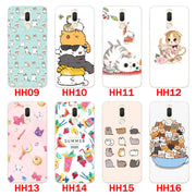 "Huawei Mate 10 Lite Case,Silicon Look Cat Painting Soft TPU Back Cover For Huawei Mate 10 Lite 5.9"" Fitted Case Shell"