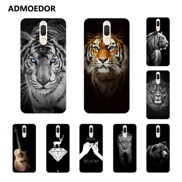 "Huawei Mate 10 Lite Case,Silicon Bandersnatch Painting Soft TPU Back Cover For Huawei Mate 10 Lite 5.9"" Fitted Case Shell"