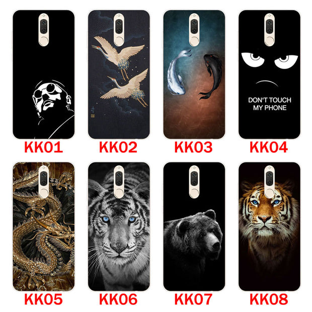"Huawei Mate 10 Lite Case,Silicon Bandersnatch Painting Soft TPU Back Cover For Huawei Mate 10 Lite 5.9"" Phone Protect Bags Shell"