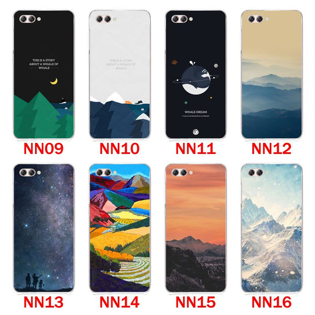 Huawei Nova 2s Case,Silicon Scenery Painting Soft TPU Back Cover For Huawei Nova 2s Phone Protect Bags Shell
