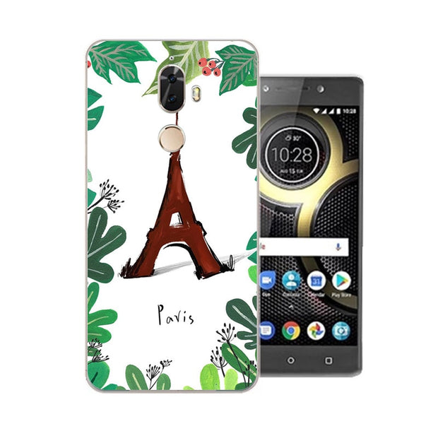 Lenovo K8 Note Case,Silicon Bubble Cat Painting Soft TPU Back Cover For Lenovo K8 Plus Phone Protect Case Shell