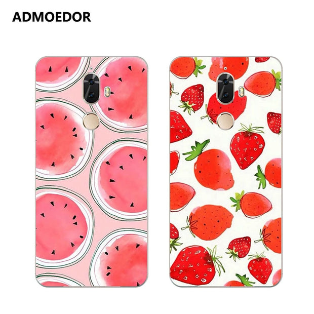 Lenovo K8 Note Case,Silicon Colorful Food Painting Soft TPU Back Cover For Lenovo K8 Plus Phone Protect Case Shell