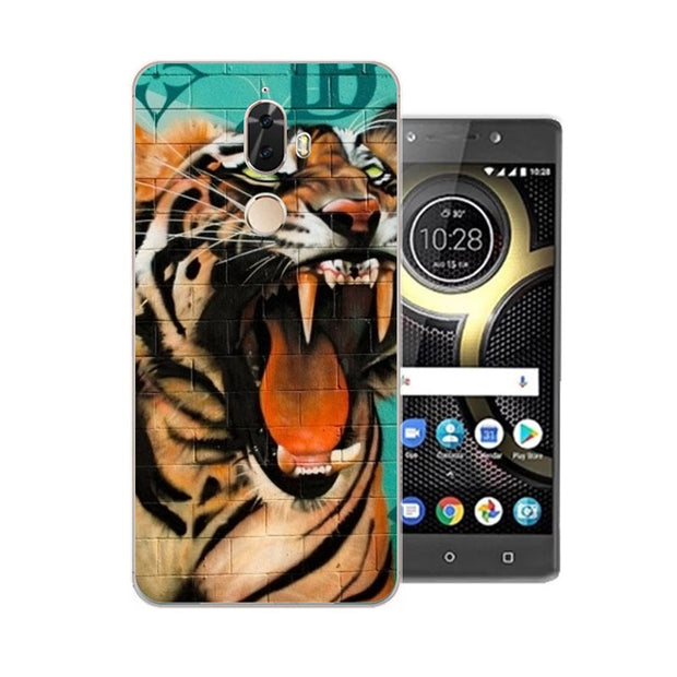 Lenovo K8 Note Case,Silicon Graffiti 3D Relief Painting Soft TPU Back Cover For Lenovo K8 Plus Phone Protect Bags Shell