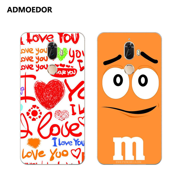 Lenovo K8 Note Case,Silicon Letter Expression Painting Soft TPU Back Cover For Lenovo K8 Plus Phone Protect Bags Shell