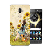 Lenovo K8 Note Case,Silicon Lifelike 3D Relief Painting Soft TPU Back Cover For Lenovo K8 Plus Phone Bags