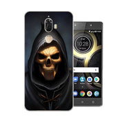 Lenovo K8 Note Case,Silicon Phanton Cartoon Painting Soft TPU Back Cover For Lenovo K8 Plus Phone Protect Bags Shell