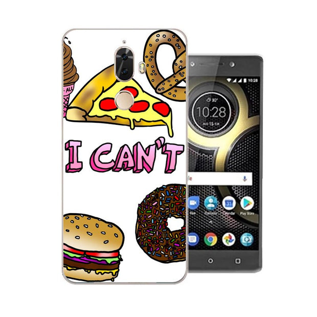 Lenovo K8 Note Case,Silicon Rich Food Painting Soft TPU Back Cover For Lenovo K8 Plus Phone Fitted Case Shell