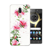Lenovo K8 Note Case,Silicon Beautiful Flowers 3D Relief Painting Soft TPU Back Cover For Lenovo K8 Plus Phone Bags