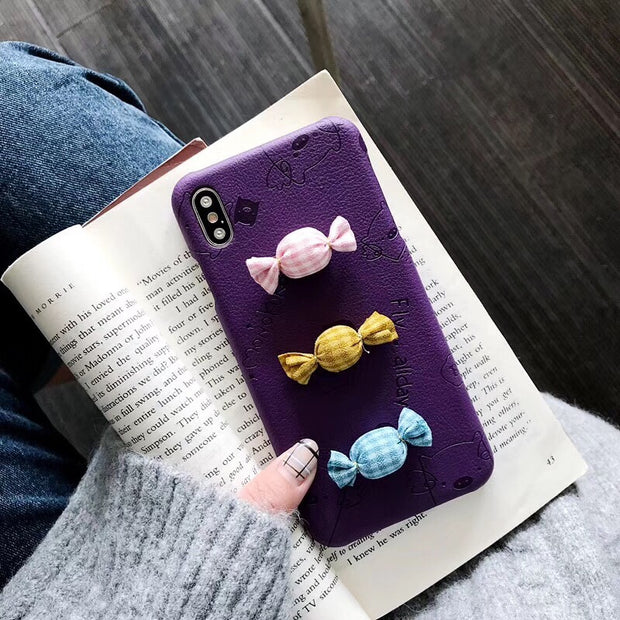 Maosenguoji Fashion Cortex Embossing Luxury Funny Candy Mobile Phone Case For Huawei P10 P20 Mate 10 Pro Navo 2S 3i Honor 9 10