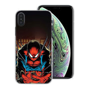 Marvel Superheroes Captain America Iron Man Spiderman Phone Cases Cover For Apple IPhone 7 8 6 6S Plus SE 5S X XR XS MAX Protect