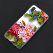 Pink Rose Flower Daisy Phone Case Cover For Huawei Nova 2i 3 3e 3i 4 Mate 10 20 Lite P20 Pro P20 Lite Hard PC Phone Cases