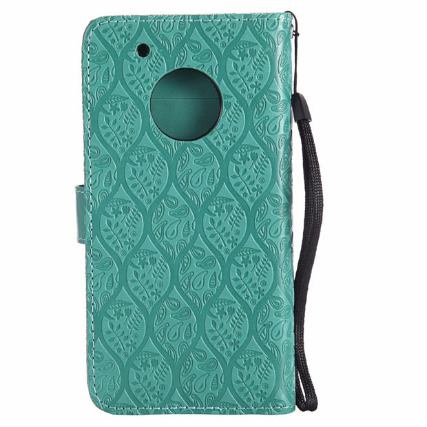 SFor Motorola Moto G5 Plus Phone Case 3D Emboss Cover For Motorola Moto G5 PU Leather Mobile Shell Wallet Flip Stand Cover G5+