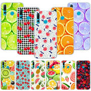 Summer Fruits Lemon Cherry Phone Case Cover For Huawei Nova 2i 3 3e 3i 4 Mate 10 20 Lite P20 Pro P20 Lite Hard PC Phone Cases