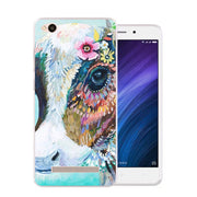 Xiaomi Redmi 5a Case,Silicon Lifelike 3D Relief Painting Soft TPU Back Cover For Redmi 5a Phone Fitted Bags Shell