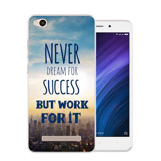 Xiaomi Redmi 5a Case,Silicon Scenery Painting Soft TPU Back Cover For Xiaomi Redmi 5a Phone Fitted Bags Shell