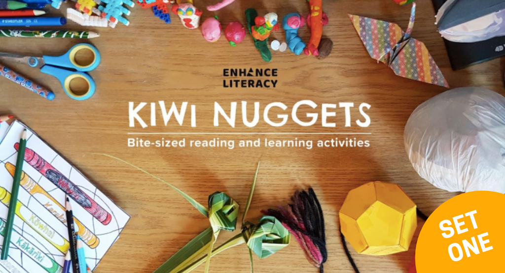 Kiwi Nuggets – FREE bite-sized reading and learning activities