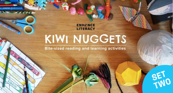 Kiwi Nuggets set two – free reading and learning activities