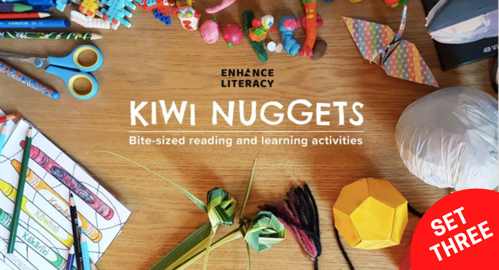 Kiwi Nuggets set three – free reading and learning activities