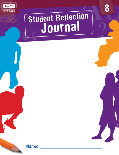 Student Reflection Journal (Red CSI Literacy Kit)