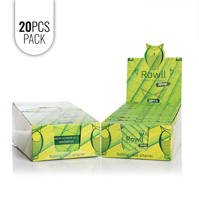 ROWLL all in 1 Rolling Kit Hemp (20 PCS PACK ) - Rowll - Rolling but smarter
