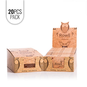 ROWLL all in 1 Rolling Kit Unbleached (20 PCS PACK) - Rowll - Rolling but smarter