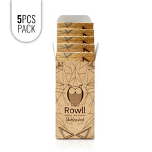 Load image into Gallery viewer, ROWLL all in 1 Rolling Kit Unbleached (5 PCS PACK) - Rowll - Rolling but smarter