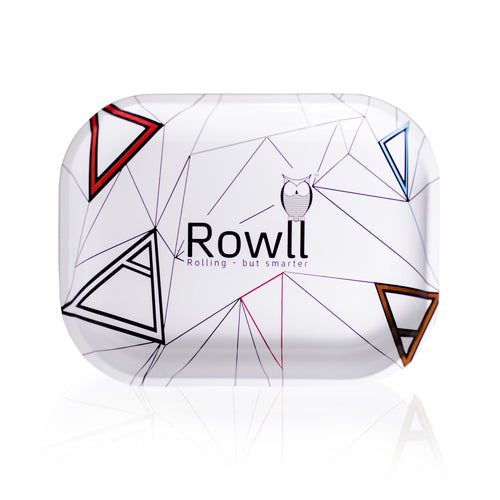 Rowll Signature Small Metal Rolling Tray & Get Rowll all in 1 Rolling Kit - Rowll - Rolling but smarter