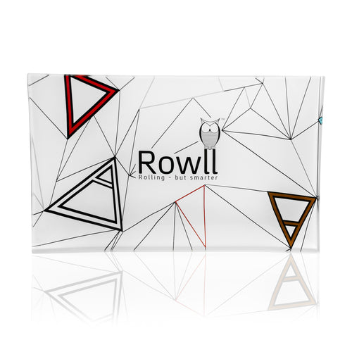 Rowll Large Glass Rolling Tray & Get Rowll all in 1 Rolling Kit - Rowll - Rolling but smarter
