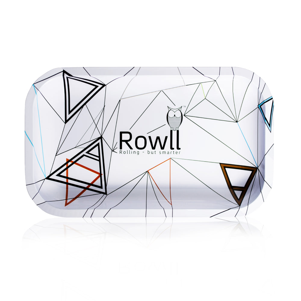 Rowll Signature Large Metal Rolling Tray & Get Rowll all in 1 Rolling Kit - Rowll - Rolling but smarter
