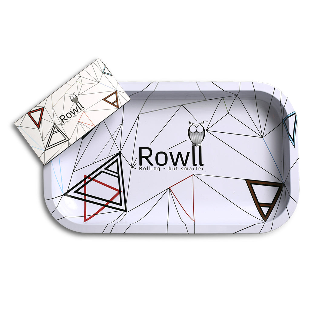 Rowll Premium Large Metal Rolling Tray Get Rowll all in 1 Rolling Kit FREE