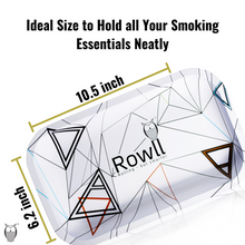 Load image into Gallery viewer, Rowll Signature Large Metal Rolling Tray & Get Rowll all in 1 Rolling Kit - Rowll - Rolling but smarter