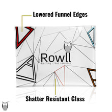 Load image into Gallery viewer, Rowll Signature Small Glass Rolling Tray & Get Rowll all in 1 Rolling Kit - Rowll - Rolling but smarter