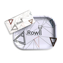 Load image into Gallery viewer, Rowll Signature Small Metal Rolling Tray & Get Rowll all in 1 Rolling Kit