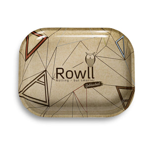 Rowll Unbleached Small Metal Rolling Tray - Rowll - Rolling but smarter