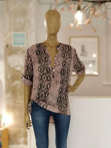 Blusa animal print color