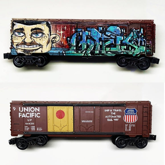 'CHRIS' w/ 'FORCE 128' Character, O Scale Model Train