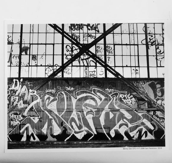 Benny DIAR, Signed by Mouth - Lock Down 2020 - San Francisco b&w - 8
